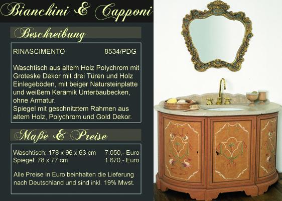 Sollten Sie Interesse An Unseren Bianchini U0026 Capponi Produkten Haben Bevor  Alle Informationen Online Sind, Helfen Wir Ihnen Gerne Per Email Weiter.